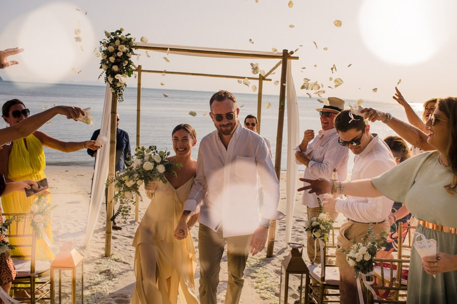 Koh Samui wedding vows